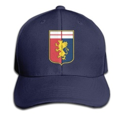 Unisex Genoa C.F.C. Logo Cool 100% Cotton Adjustable Baseball Cap - intl