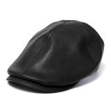 Ulasan Mengenai Kulit Unisex Topi Tukang Koran Lvy Baret Sopir Gatsby Topi Golf Datar