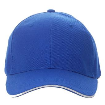Price Checker Polos Unisex Topi Olahraga Bisbol Kosong Visor Melengkung  (Biru)-Intl pencari 70f7aafe81