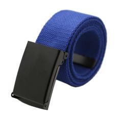 Jual Unisex Plain Webbing Mens Boys Pinggang Belt Casual Pinggang Navy Blue Int Satu Ukuran Intl Online Di Hong Kong Sar Tiongkok