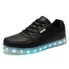 Baju Adapula Kasual Perbedaan Kesederhanaan Cahaya LED Bercahaya Tari DJ Dia Kets (Hitam)