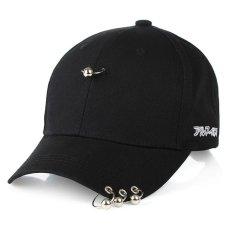 Unisex Korea Selatan Gd G Dragon Bingbang Topi Pria Hoop Hip Hop Hat Memuncak Hitam Sliver Oem Murah Di Tiongkok