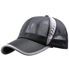 Jual Adapula Musim Panas Kolam Snapback Olahraga Topi Bisbol Yang Dapat Menghubungkan Topi Hitam Vococal Murah
