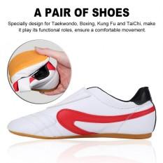 Unisex Taekwondo Tinju Kung Fu Tai Chi Sport Gym Sepatu Untuk Anak Dewasa Hot (31)-Intl By Highfly.