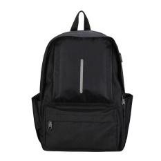 Remaja Unisex Perjalanan Tas Santai untuk Notebook Laptop Backpack (Hitam)-Intl