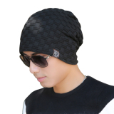 Ulasan Lengkap Tentang Unisex Winter Skull Knit Beanie Fur Baggy Wool Cap Warm Hat Black Intl