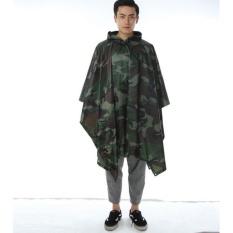 Review Universal Jas Hujan Motor Camouflage Terbaru