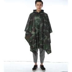 Harga Universal Jas Hujan Motor Camouflage Asli Universal