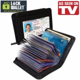 Beli Rs Universal Lock Wallet Secure Rfid Blocking Credit Card Purse Dompet Kartu Kredit Anti Rfid Black Pake Kartu Kredit