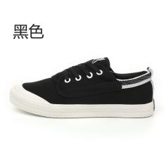 Artis Universal Musim Semi Baru Kebugaran Sepatu Bola Sepatu Kets Putih Hitam Universal Diskon