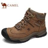 Toko Camel Pria Tahan Air Hiking Pendakian Sepatu Suede Boots Termal Musim Dingin Outdoor Mountain Sneakers Tinggi Olahraga Sepatu Cokelat Online