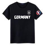 Kualitas T Shirt T Shirt Menang Luo Lengan Pendek 2016 Jerman Hitam Oem