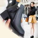 Promo Up Fashion Martin Boots Ankle Boots Black Intl Tiongkok