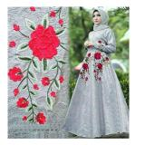 Spesifikasi Up2Date Gamis Bordir Lula Grey