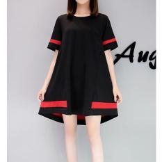UR Korea Korea Fashion Big Size Dress Black-Intl