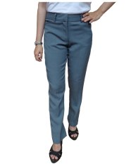 Promo Urban Act Celana Panjang Bahan Slim Fit Formal Wanita Abu Muda Urban Act