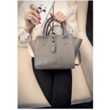 Jual Beli Urban Trendy Handbag Import Tas Selempang Cewek Fashion Bag Import C03046 Gray Indonesia