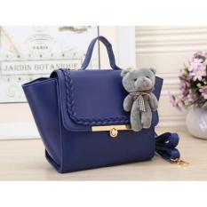 Toko Urbantrendy Korean Style Best Seller Fashion Bag Import C10036 Plus Boneka Yang Bisa Kredit