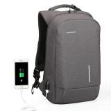 Review Usb Charge Pria Backpack 15 6 Laptop Ransel Besar Kapasitas Tas Tahan Air Santai Wanita Backpack Phone Suction Pemegang 15 Inches Intl Di Tiongkok