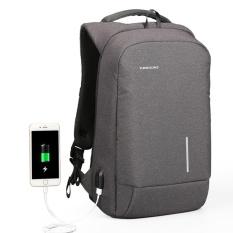 Cuci Gudang Usb Charge Pria Backpack 15 6 Laptop Ransel Besar Kapasitas Tas Tahan Air Santai Wanita Backpack Phone Suction Pemegang 15 Inches Intl