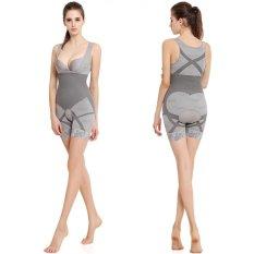 USTORE Arang Bambu Body Sculpting Korset Shapewear Pinggang Cincher Underwear-Intl