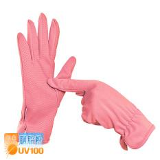 Spesifikasi Uv100 Sarung Tangan Mengemudi Pelindung Terik Matahari Sarung Tangan Musim Panas Perempuan Silikon Non Slip Rouge Merah Muda Lengkap Dengan Harga