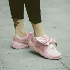 Uwais Shoes-Sepatu Waniita Pita Bow Fenty Simple