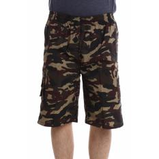 Valatex celana pendek cargo army - Abu
