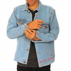 Jual Valco Jaket Jeans Denim Bioblits Pria Biru Muda Lengkap