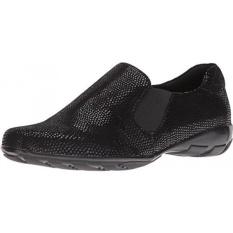 Vaneli Womens Ace Black ECCO E-Cetak Sepatu-Intl