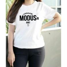 Vanessa Tumblr Tee / T-Shirt Jangan modusin / T-shirt Wanita / Kaos Cewek / Tumblr Tee Cewek / Kaos Wanita Murah / Baju Wanita Murah / Kaos Lengan Pendek / Kaos Oblong / Kaos Tulisan