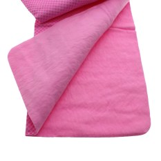 Review Toko Vanker Ice Cold Cool Enduring Outdoor Sport Menjalankan Jogging Handuk Golf Scarf Chilly Pad Pink Online