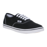 Harga Vans Authentic Lo Pro Sneakers Black True White Seken
