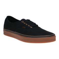 Diskon Vans Authentic Sneakers Black Rubber Vans Indonesia