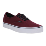 Jual Vans Authentic Sneakers Port Royale Red Black Ori