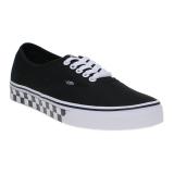 Beli Vans Checker Tape Authentic Sneakers Black White Dengan Kartu Kredit