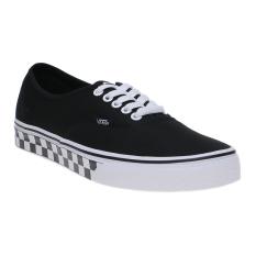 Beli Vans Checker Tape Authentic Sneakers Black White Kredit Indonesia