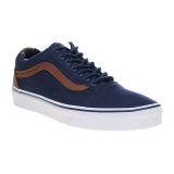 Harga Vans C L Old Skool Sneakers Dress Blues Material Mix Origin