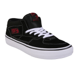 Vans M Half Cab Pro Black White Red Pro Skate Exclusive Collection Vans Diskon 40