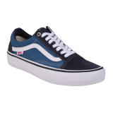 Vans M Old Skool Pro Navy Stv Navy White Pro Skate Exclusive Collection Original