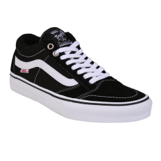 Vans M Tnt Sg Black White Pro Skate Exclusive Collection Murah