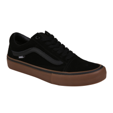 Review Vans Mn Old Skool Pro Black Gum Gum Pro Skate Exclusive Collection Di Indonesia