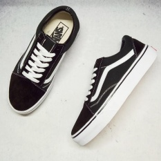 Vans Old Skool pro unisex street low top canvas shoes for men's and women's os skateboarding sneakers Classic black and white