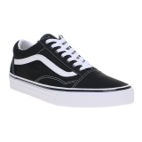 Promo Vans Old Skool Sneakers Black True White Vans Terbaru