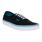 Cara Beli Vans Pop Authentic Sneakers Columbia Black