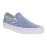 Vans Speckle Jersey Classic Slip On Sneakers Blue True White Vans Diskon 50