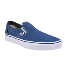 Jual Vans U Classic Slip On Shoes Navy Lengkap