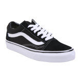 Jual Vans U Old Skool Shoes Black White 3 Murah Indonesia
