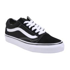 Vans U Old Skool Shoes Black White 3 Promo Beli 1 Gratis 1