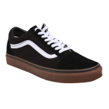 Spek Vans U Old Skool Shoes Gumsole Black Medium Gum